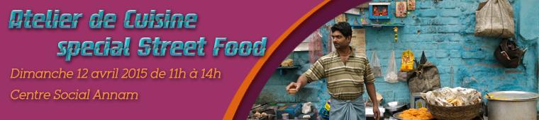 Atelier de cuisine indienne spécial Street Food à Paris
