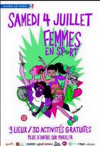 Femmes en sport 2015