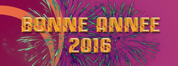 Très bonne année 2016 !