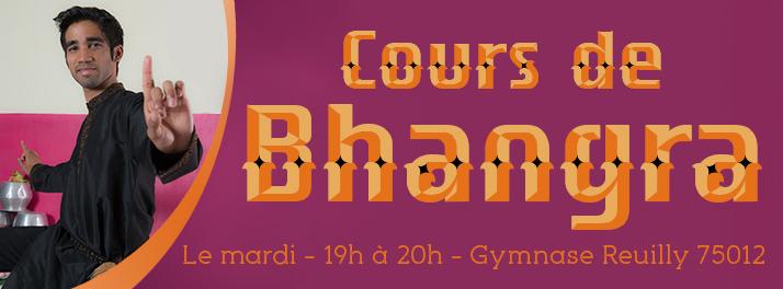 Nouveau cours de danse : BHANGRA
