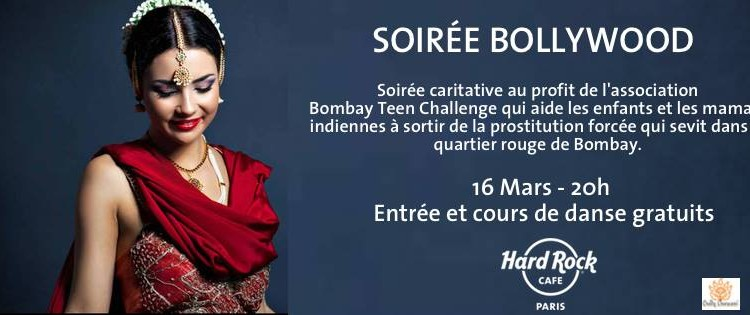 Soirée Bollywood au Hard Rock Cafe le 16 mars 2016